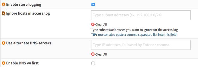 General User Interface — OPNsense documentation