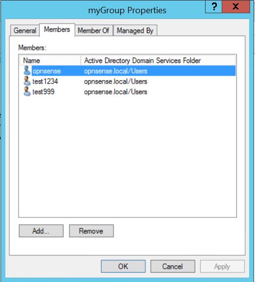 Access / Servers / LDAP — OPNsense documentation